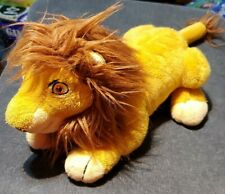 "Lion King Rare Walt Disney World Mufasa Plush stuffed toy 12"""
