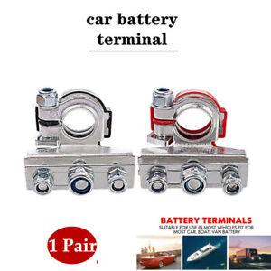 16-18mm Car Truck Battery Terminal Disconnect Positive Negative Switch Link 2PCS