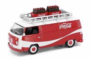 Tiny City Die-cast Model Car - Volkswagen T2 Coca-Cola (with bottle of coke 1970