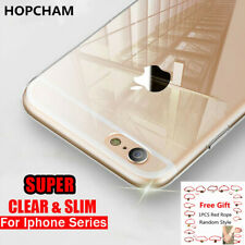 For iPhone 12 11 Pro 11 Pro Max XR XS 7 Plus 8+ SE 5 Case Clear Shockproof Cover