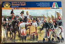 ITALERI 6037 - AUSTRIAN & RUSSIAN GENERAL STAFF - 1/72 PLASTIC KIT