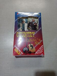 COUNTRY CLASSICS SERIES 1 COLLECT A CARD FACTORY SEALED 1992 36 PK BOX