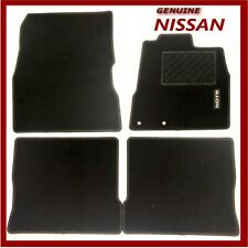 Genuine Nissan Note Car Floor Mats Textile Front & Rear Set of 4 KE7553VV20 New!