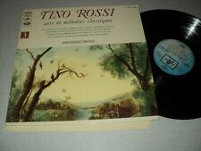 TINO ROSSI 33 TOURS LP FRANCE AIRS ET MELODIES CLASSIQUES
