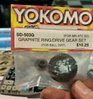 Yokomo SD-503G Graphite Ring Gear/Drive Gear Set for Ball Differential