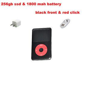 iPod Classic 7th Generation 160GB to 256GB SSD1800mAh Large Battery (Custom U2)