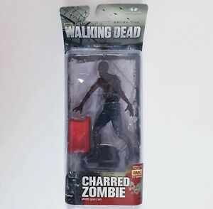 Walking Dead Charred Zombie With Gas Can Series 5 Figure McFarlane Toys 2014