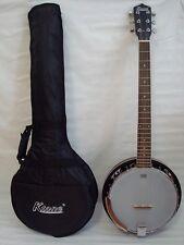 6 String Banjo, Closed Back, 24 Bracket, Remo Head, Free Gig Bag
