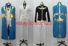 Code Geass R2 Suzaku Cosplay Costume Custom