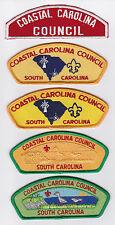 USA BOY SCOUTS OF AMERICA - COASTAL CAROLINA SCOUT COUNCIL SHOULDER PATCH CSP