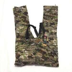 Under Armour Grit Bib Ridge Forest Camo Hunting Pants Men's Size 5XL