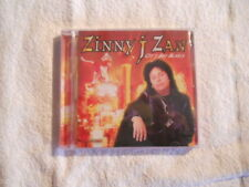 "Zinny J Zan ""City boy Blues"" 2002 cd Fastlane Records Shotgun Messiah New Sealed"
