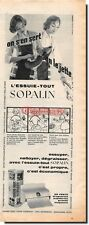Publicité Advertising 1959 - Essuie Tout SOPALIN -  (Advertising paper)