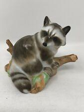 Herend Hungary Guild 2004 Natural Raccoon Figurine 15854