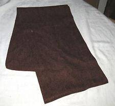 Table Runner Brown Heavy Weave Fabric NWoT