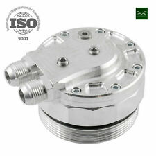 OIL FILTER CAP WITH OIL COOLER FITTINGS AND 3 SENSOR PORTS BMW M52 M54 M56 - PMC