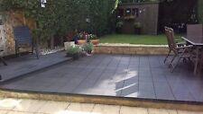 10 x Garden Patio Interlocking Outdoor Decking Tiles Recycled Material 30x 30cm