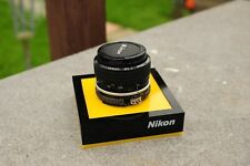 Nikon NIKKOR 28mm 1:2.8 F Mount Pre Ai Lens F Mount used condition.