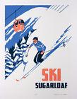 Ski Sugarloaf - Vintage Travel Poster
