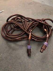 36FT Long Heavy Duty Speakon To Speakon Speaker Cable