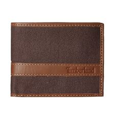 Timberland d88218 / 73 Men's Hunter Passcase Dark Earth wallet NUOVO IN SCATOLA