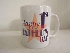 Feliz 1º Regalo Día del Padre 313ml Taza de cerámica parto