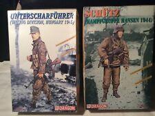 2 Dragon Model Kits WW2 German Soldiers Warriors Series