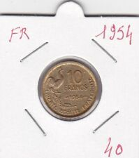 France 10 Francs 1954 - type Guiraud