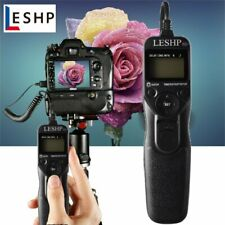 LCD Timer Remote Shutter Release for Canon 300D 350D 500D 550D 400D 450D 300V 30