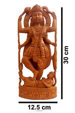 Maa Kali Hindu Goddess Consort of Shiva statue deity idols wooden Figurine Home