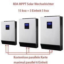 15Kva Solar Wechselrichter 12000W MPPT AUS Gitter Reine Sinuswelle 80A Aufladen