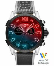 Diesel DZT2012 Full Guard 2.5 Touchscreen HR GPS  Nylon Strap Men's Smartwatch
