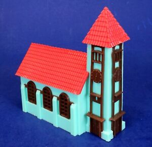Old HO Scale Built-Up Church Building