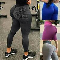 Women Anti-Cellulite Push Up Yoga Pants Butt Lift Leggings Tummy Control Workout
