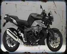 Bmw K1300R 11 A4 Metal Sign Motorbike Vintage Aged