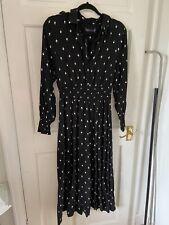 Marks And Spencer Black Heart Dress Size 10