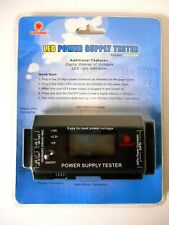 Coolmax PS-228 LCD Power Supply Tester *New, mfr sealed packaging*