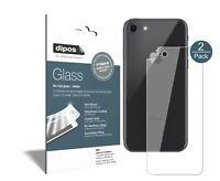 2x Apple iPhone 8 Rueckseite Protector de Pantalla Vidrio Flexible Cristal