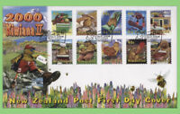 New Zealand 2000 Kiwiana II set on First Day Cover