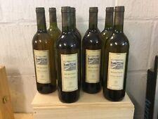 Lot de 9 bouteilles Pessac Léognan blanc mise Sichel   millésime 1995
