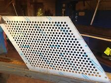 Aluminium Perforated Panels. 600x700mm 3mm Thick