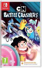Battle Crashers Nintendo Switch Cartoon Network Game Code in Box - New & Sealed