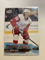 2016 16/17 UD Upper Deck Series 2  Tyler Bertuzzi Young Guns  #471 Red Wings