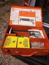 Vintage Ramset Job Master Driver Gun Model 122 Md Anchor Concrete 60s 70s