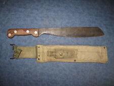 AUSTRALIAN 1965 VIETNAM WAR LITHGOW SMALL ARMS FACTORY MACHETE KNIFE