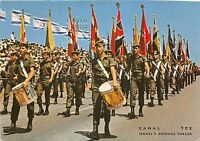 BG20798 zahal flags on independence day parade   military militaria israel