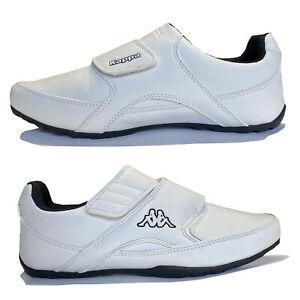 Kappa Sneaker Unisex Schuhe Weiß Klettverschluss Gr. EUR 40 NEU