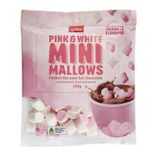 Coles Pink & White Mini Mallows 100g