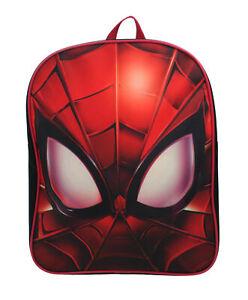 Marvel Spiderman Through My Eyes Boys Junior Backpack School Bag Kids Childrens