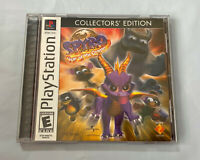 Spyro Year of the Dragon Collectors Edition Sony Playstation PS1 Complete Manual